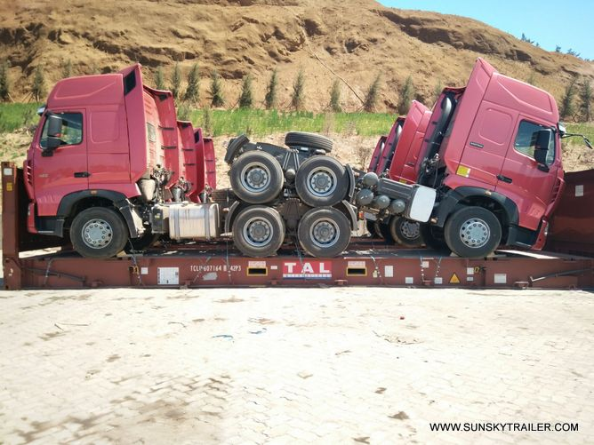 6 UNITS HOWO A7 TRACTOR TRUCK DELIVER TO PHILIPPINES