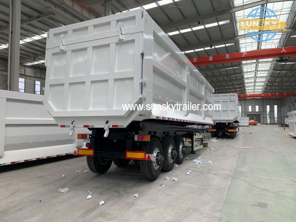 New Design 3 Axle Tipper Trailer To Help You Save Shipping Cost